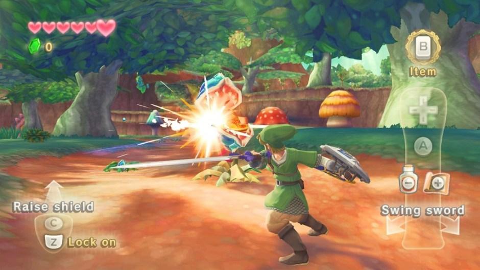 Zelda Skyward Sword Interface
