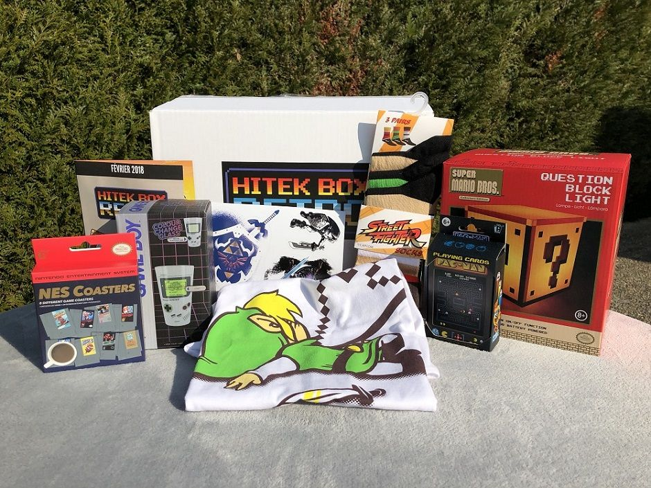 UNBOXING : la Hitek Box Retrogaming, la box ultime du gamer nostalgique
