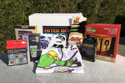 hitek box retrogaming unboxing