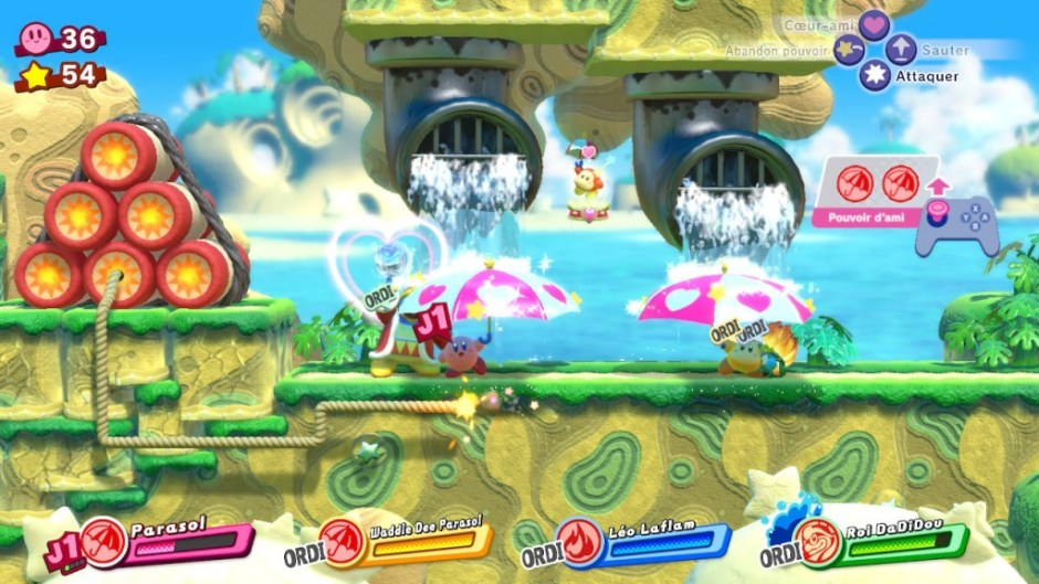 Kirby Star Allies alliés