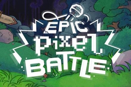 epic pixel battle banniere