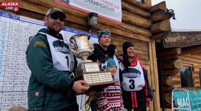 Photo du podium de l'ONAC 2019 (Open North American Championship)