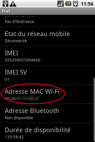 mac wifi android