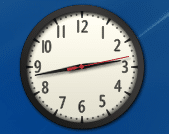 Afficher un gadget horloge sur le bureau de windows 7 lecoindunet - Horloge de bureau windows ...