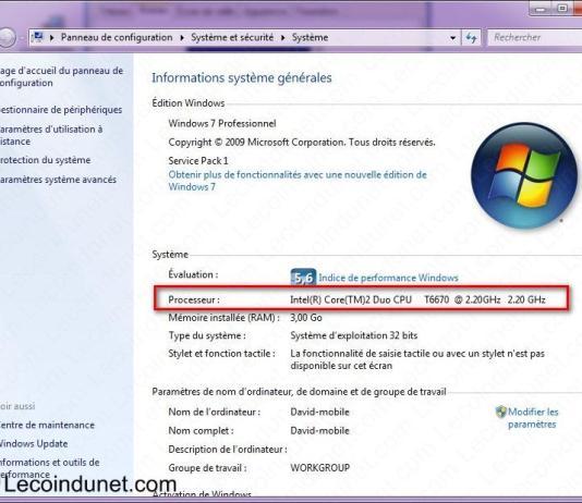 exemple cpu windows 7