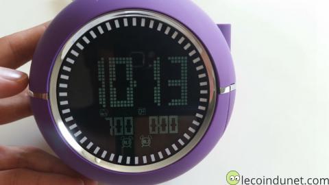 Naf Naf Clockine - Affichage LCD