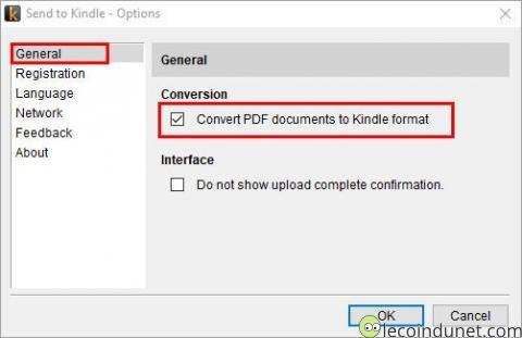 Kindle - Envoyer et convertir un PDF sur Kindle