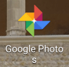 Google photos icône