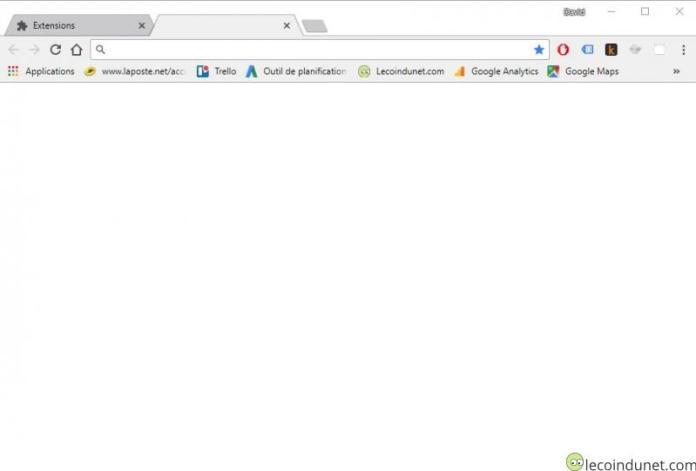 Google Chrome - Supprimer les vignettes au démarrage ou sur nouvel onglet