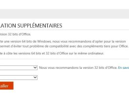 office365 - version 64 bits