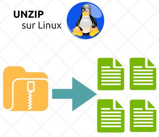 unzip linux