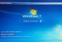 Windows 7 - Réparer l'odinateur