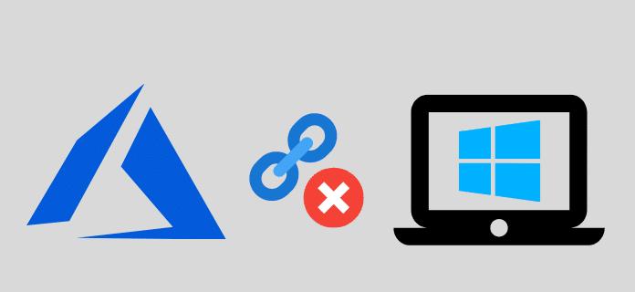 Déconnecter un PC Windows 10 d'Azure AD