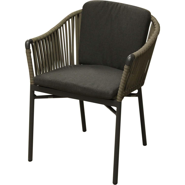 chaise d exterieur aluminium avec coussin