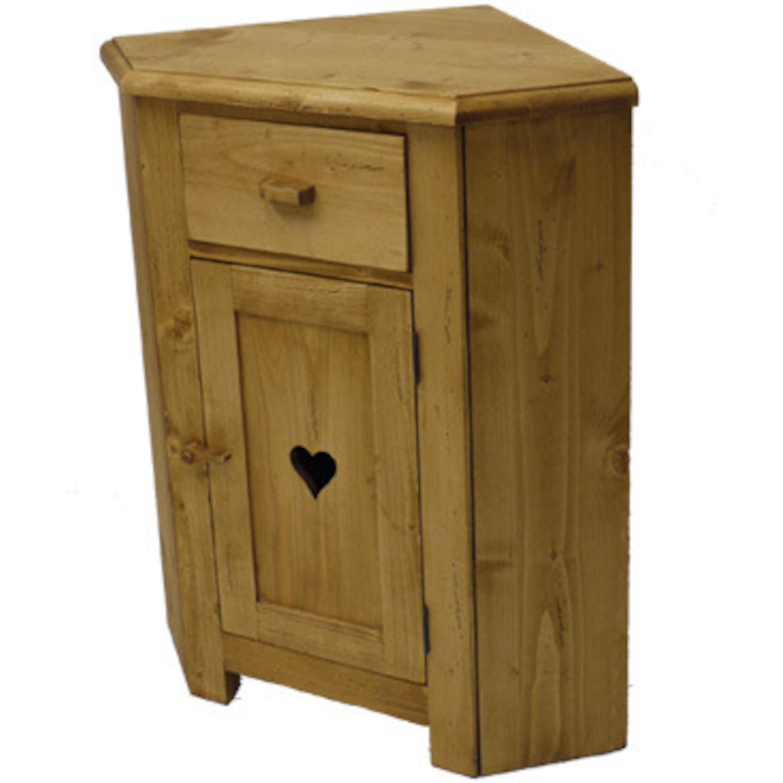meuble d angle 1 porte coeur 1 tiroir