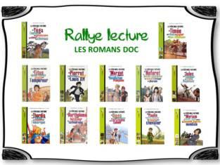 Rallye lecture - Les Romans Doc