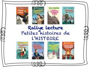 Rallye lecture - Petites histoires de l'histoire