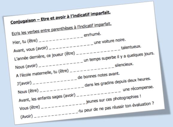 Conjugaison Archives L Ecole D Ailleurs