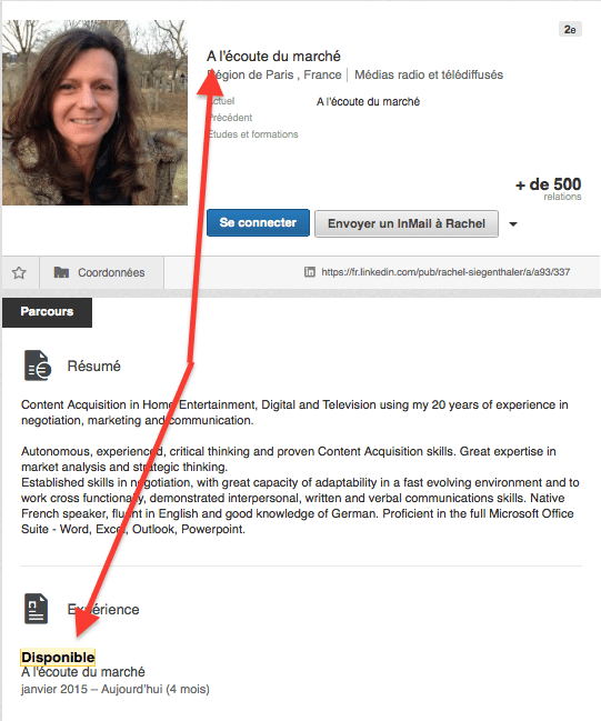 trouver candidats recherche active linkedIn viadeo