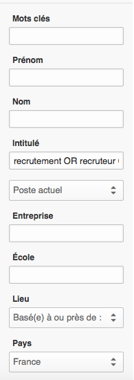 nombre de recruteurs en france