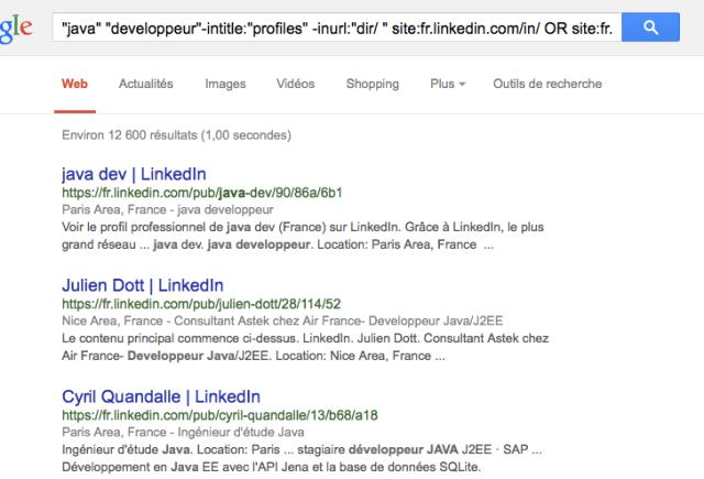 outil gratuit recherche profils google