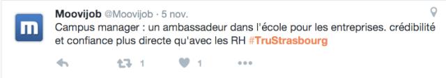 #TruStrasbourg cooptation recrutement ambassadeur