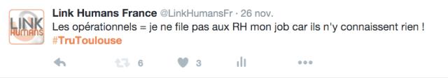 #TruToulouse 2015 recrutement polemiques