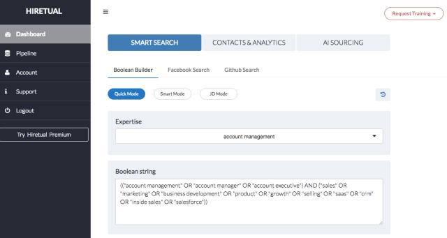 outils de sourcing recrutement 2017 hiretual