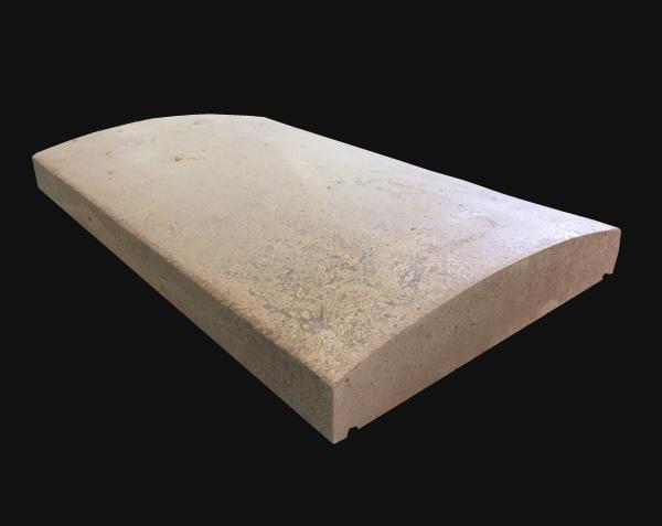 mur arrondi en pierre naturelle