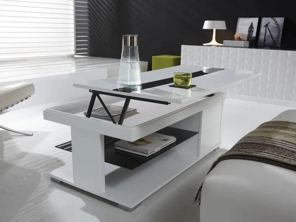 table basse relevable un mobilier indispensable pour la decoration de la maison