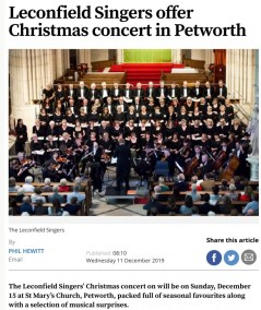 Chichester Observer Dec 19