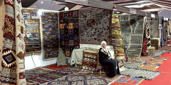 rabat celebre les tapis marocains