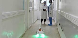 Robot Zourni Covid-19
