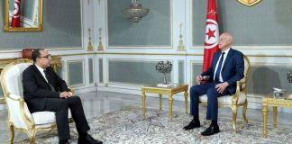 Kaïs Saïed reçoit Hichem Mechichi