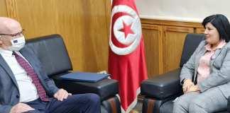 Abir Moussi Ambassadeur UE