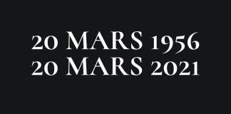 indépendance 20 mars 1956 20 mars 2021