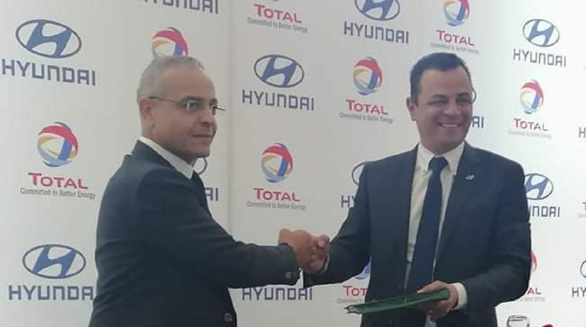 Total Tunisie et Hyundai signent un contrat de partenariat