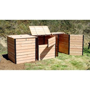 Pack de 3 compostadores para baños secos