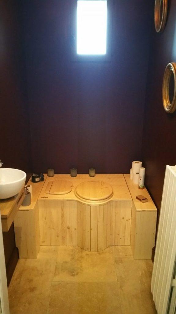 Baño seco ecológico Lécopot - Realización a medida - Montpellier