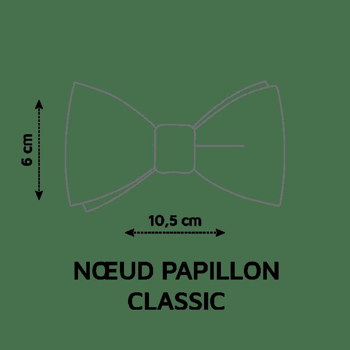 noeud papillon sur mesure tissu au choix le coq en pap