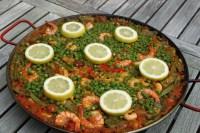 Fertige Paella