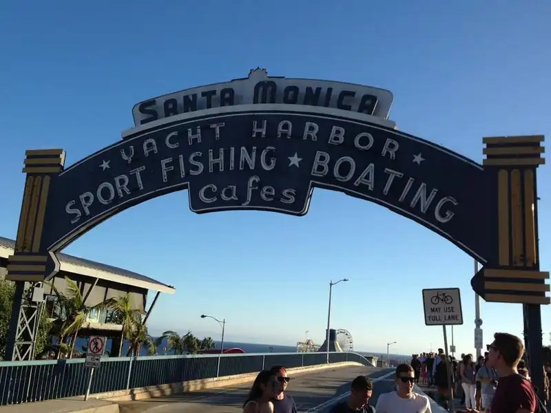 Santa Monica Pier - Los Angeles