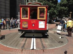 Powell St Cable Car Turnaround