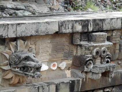 Teotihuacàn - Tempio Quetzalcoatl