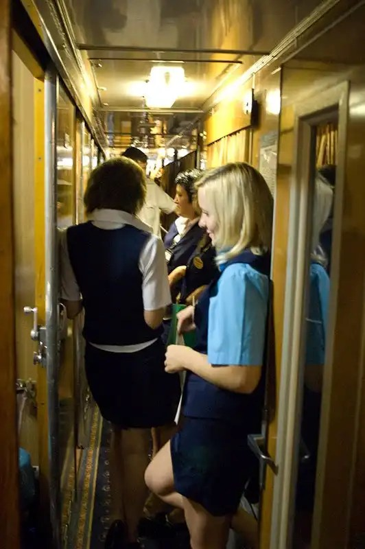 Mosca-SanPietroburgo in treno