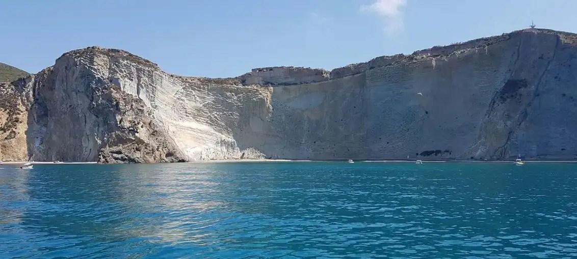 Isola di Ponza in barca a vela