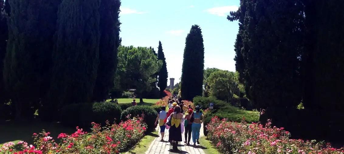 Parco Giardino Sigurtà: Cosplay tra i fiori