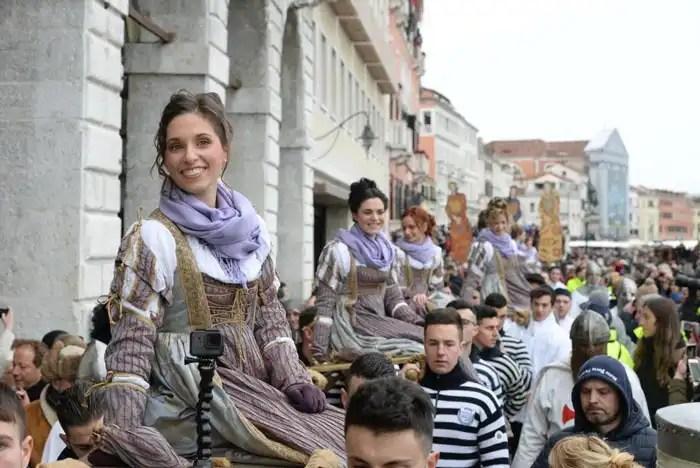 Corteo delle 12 Marie Venezia