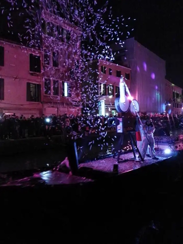 Carnevale di Venezia 2018 sfilata sull'acqua