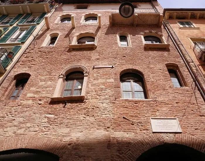 Casa di Giulietta a Verona - esterno